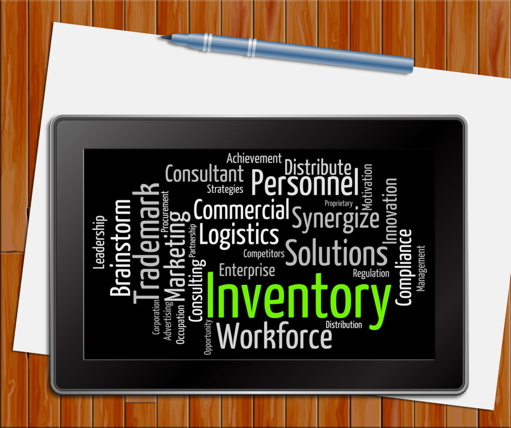 inventory-word-on-tablet