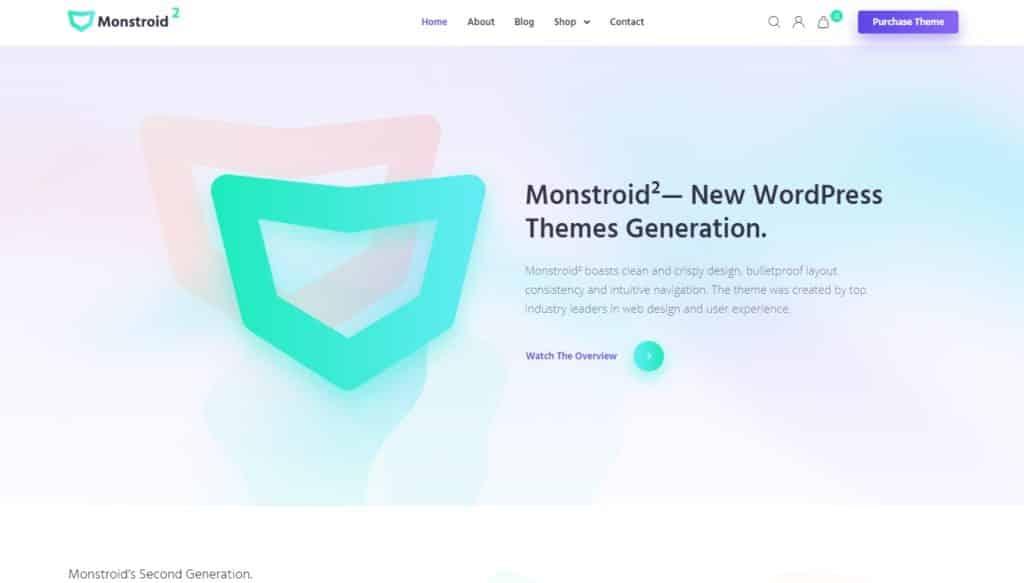 screenshot-of-monstroid2-homepage