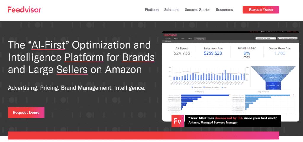 feedvisor-homepage-screenshot