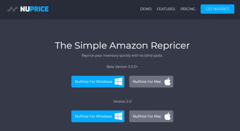 nu-price-repricer-homepage-screenshot