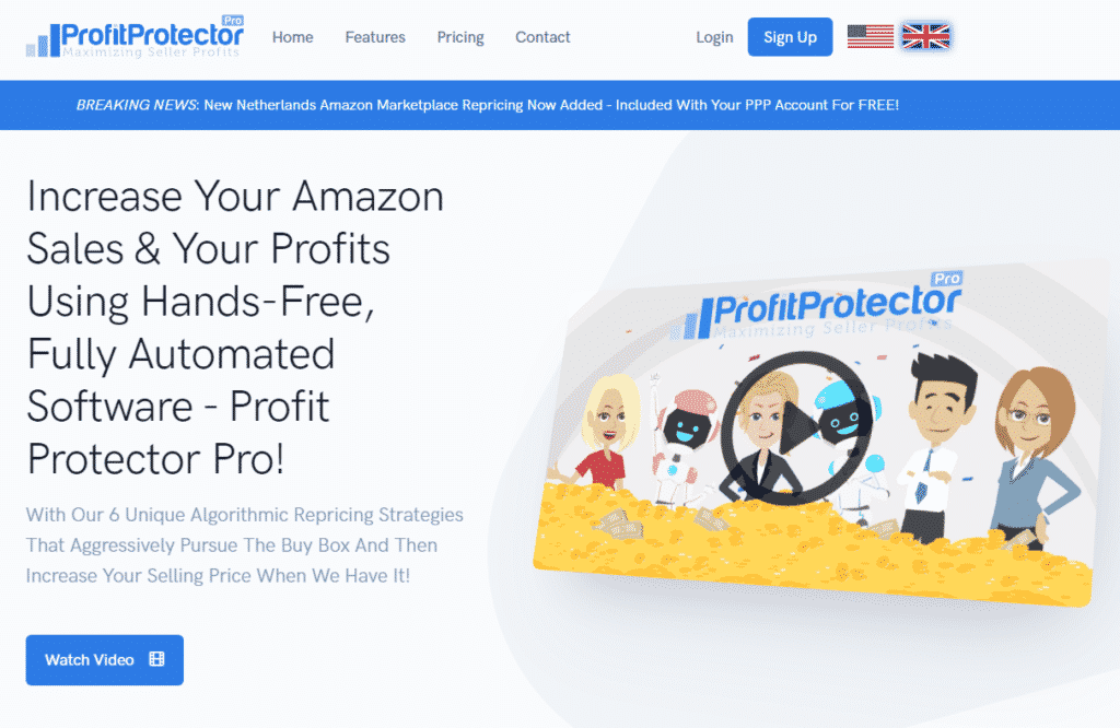 profit-protector pro-homepage-screenshot