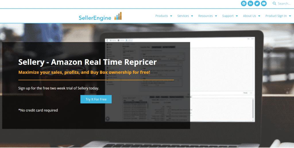 sellery-homepage-screenshot