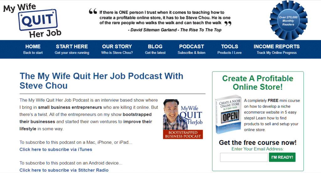 amazon podcast page