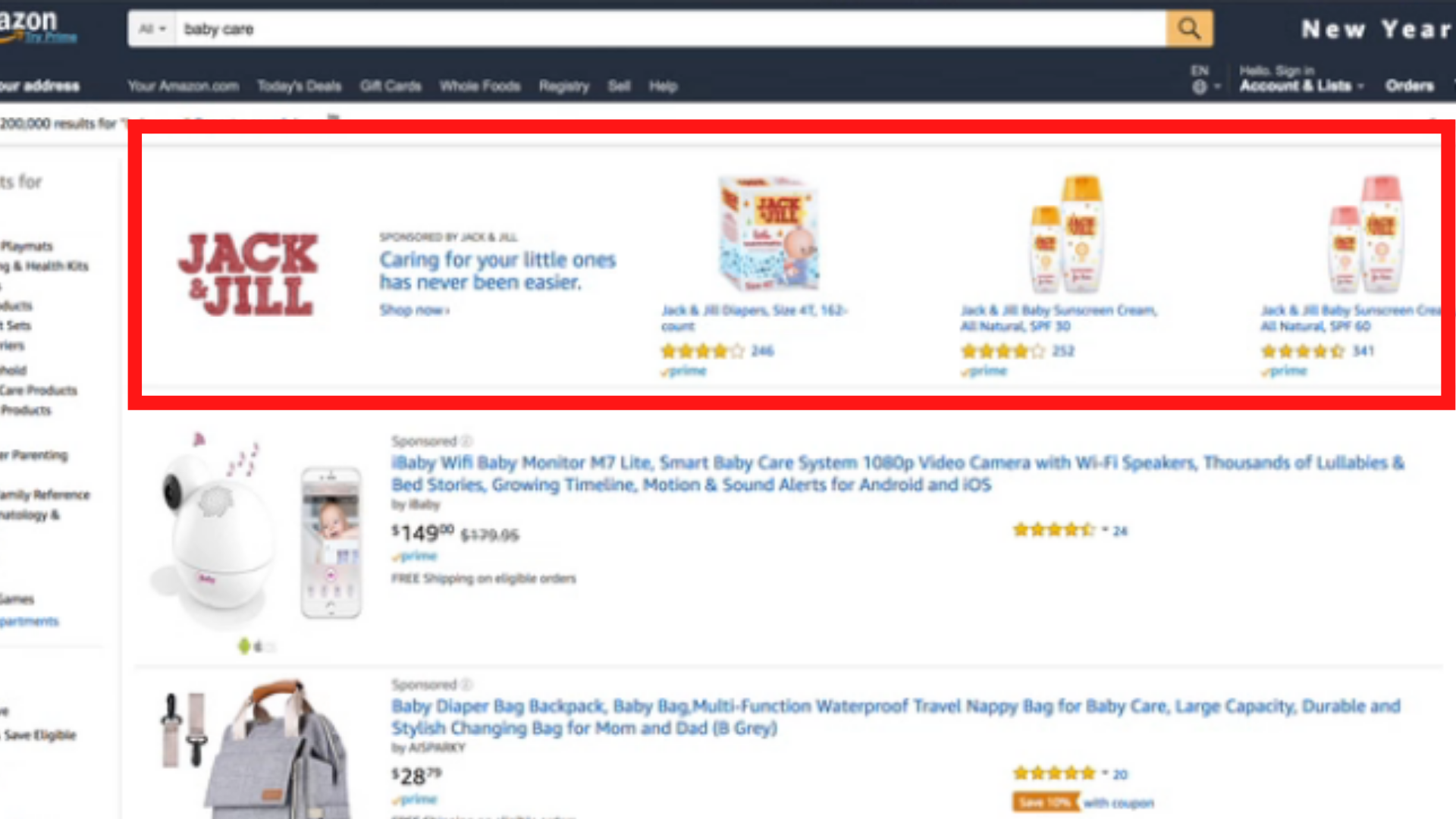 photo of amazon ads sponsored brands