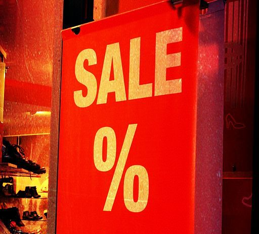 sign of sale photo