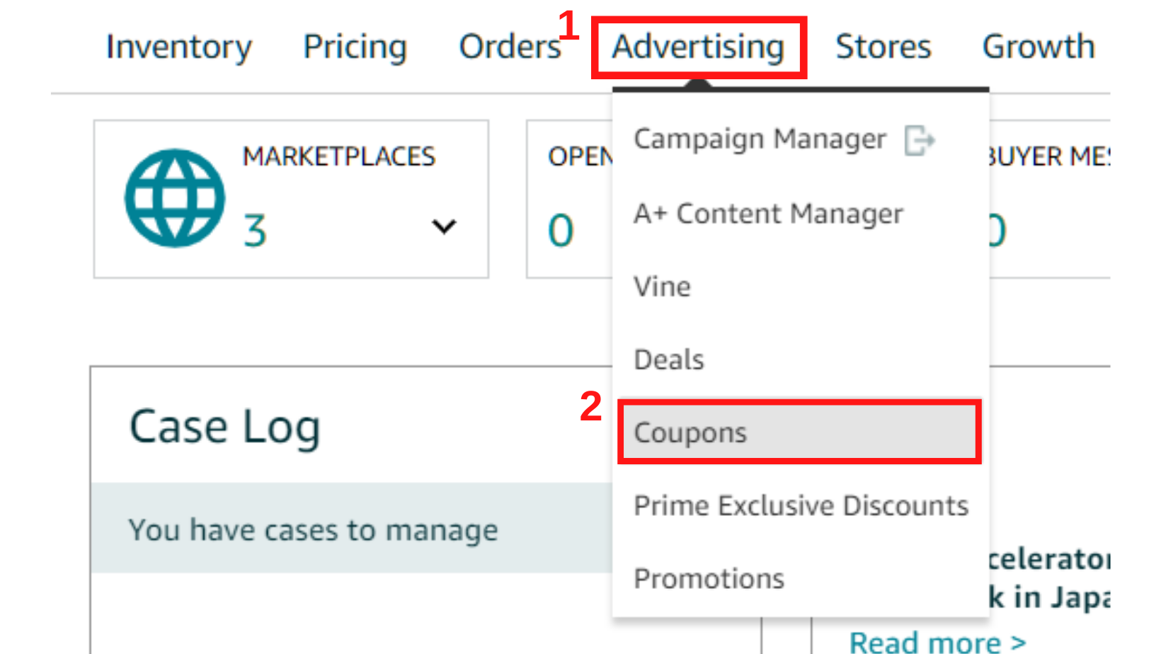 photo-of-amazon-seller-central-tabs