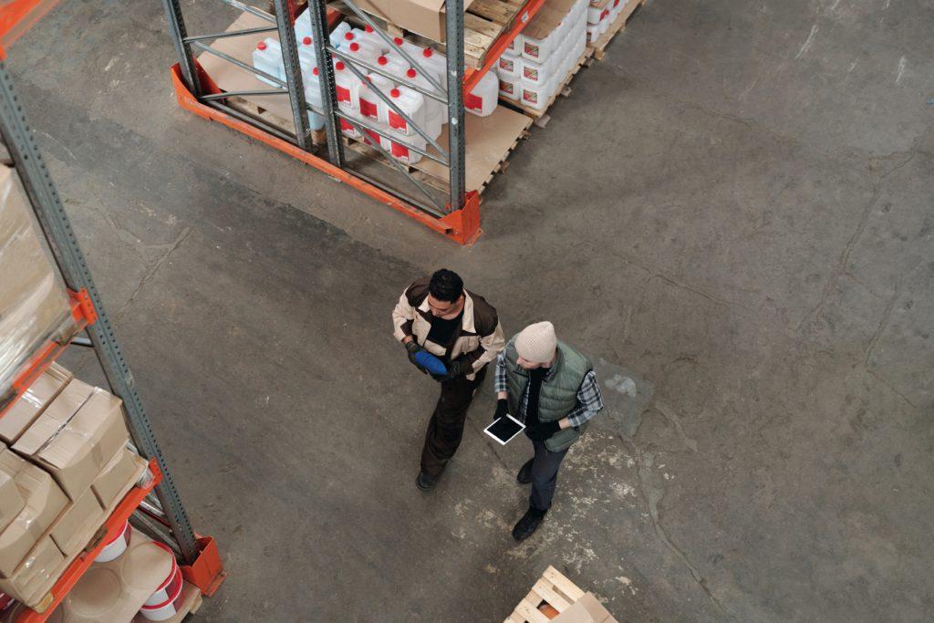 photo of inventory management clerk