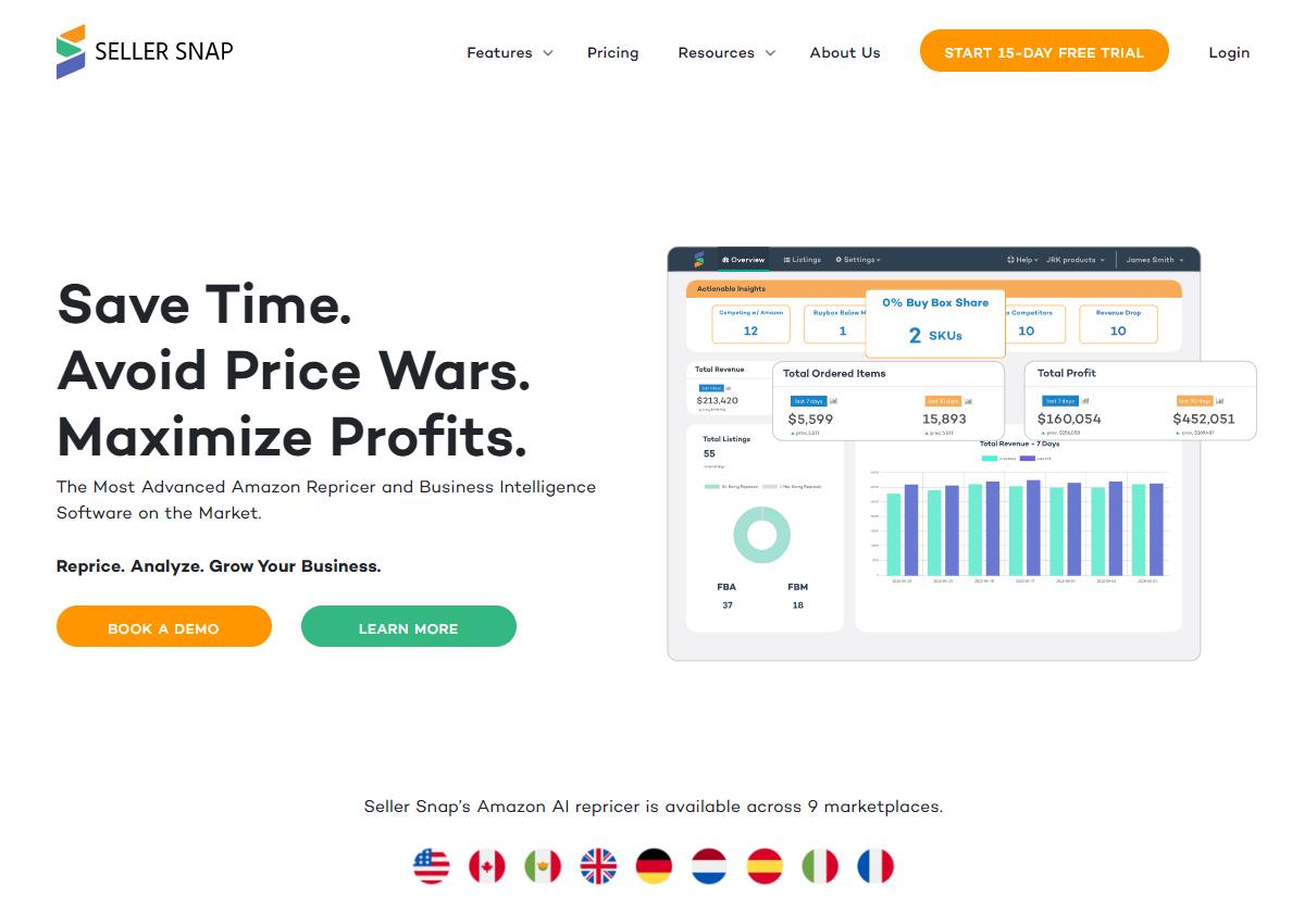 seller-snap-homepage-screenshot