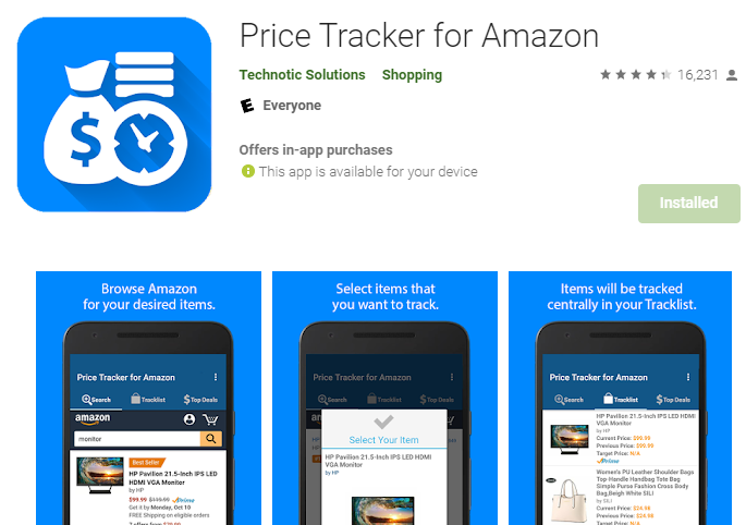 screenshot-of-price-tracker-for-amazon-landing-page